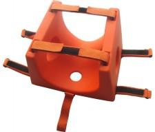 Facilmente adaptável a todos os modelos de pranchas de imobilização  disponíveis no mercado. fea187ffeb